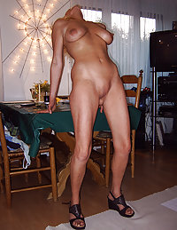 Awesome European Cougar Mom Drills Her Experienced Pussy with a Huge Dildo and Shows some of Her Naked Sweetness