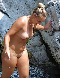 From the Series MILFs with Dildos Hot European Mom with Superb Big Boobs and Bald Shaven Cunt is Getting an Orgasm