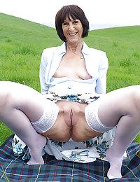 68-year-old grandma Layla's first porno!