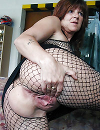 Redhead MILF gets into Sexual Partnership with Her Neighbor to Suck His Cock and Her Cunt Fucked Hard